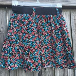CP floral skirt